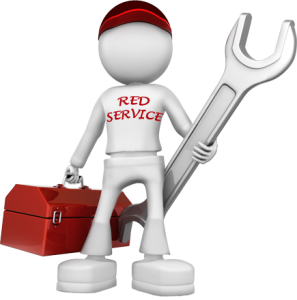 Red service professional